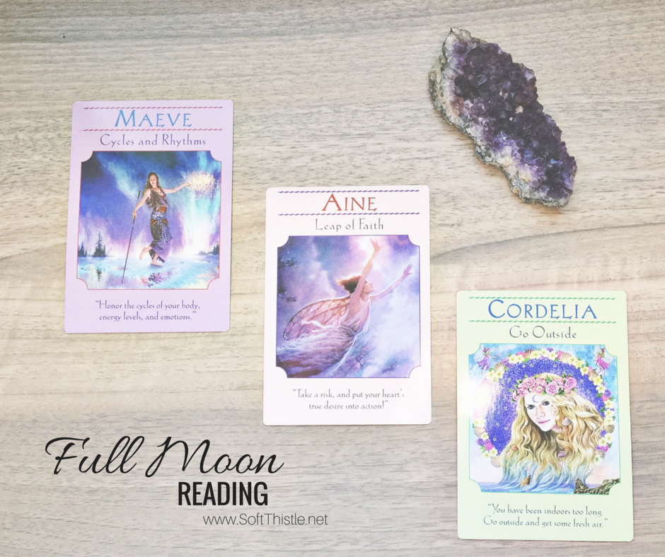 Full Moon Reading September 2015