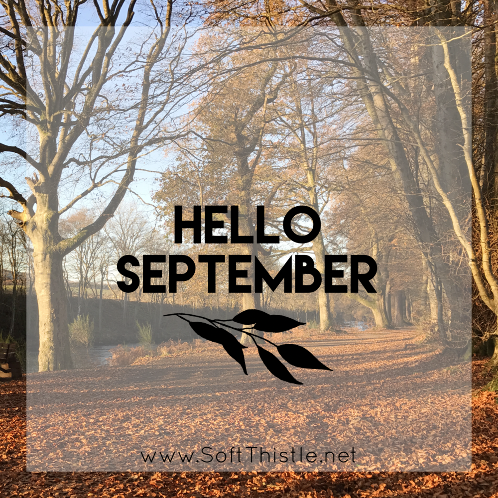 Hello September, thank you August!
