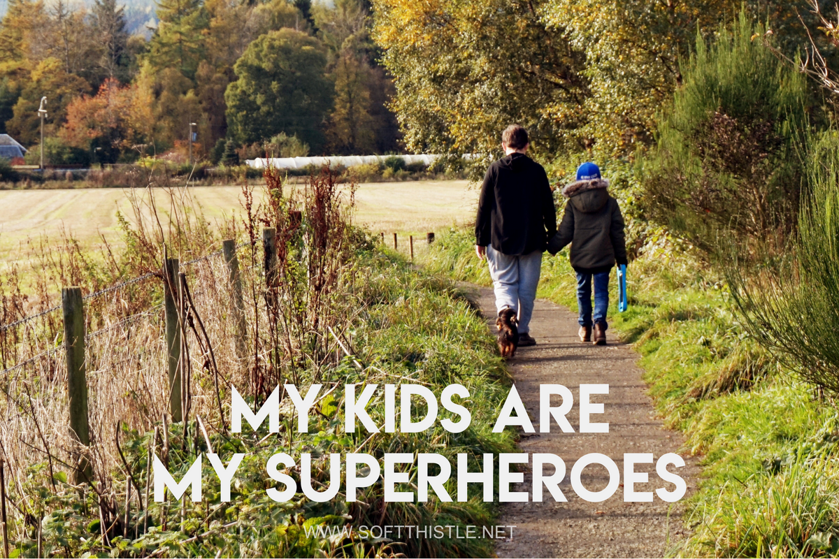 My Kids are my Superheroes