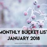monthly bucket list january 2018